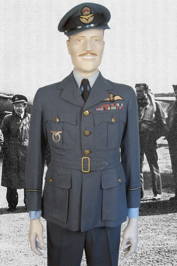 Raf Flight Officer Wwii Uniform To A Czech Pilot
