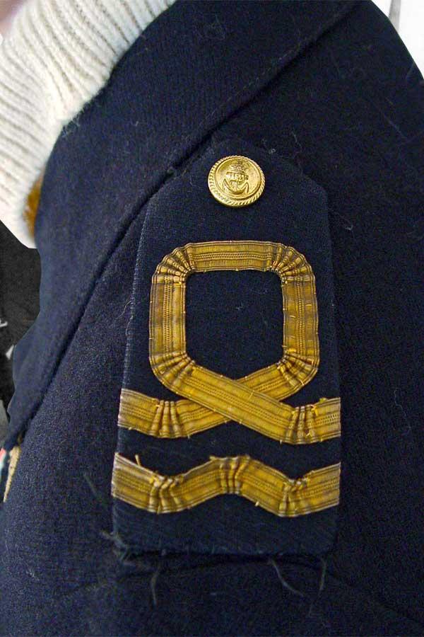 Battle Dress Uniform To A Lieutenant In The Rnvr Faa