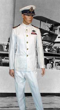 Fleet Air Arm Dress White Uniform