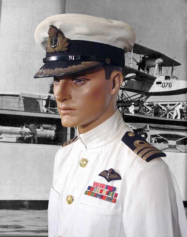 British navy uniform