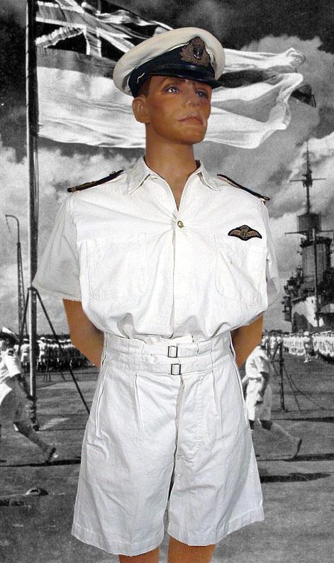 6de83b031c7 Royal Navy Volunteer Reserve Shirt Dress to a Sub Lieutenant