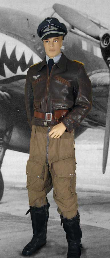 Luftwaffe Flight Uniform to a Major