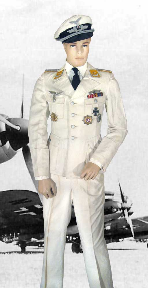 Luftwaffe Dress White Uniform