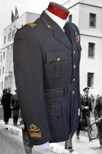 Regia Aeronautica Italian Air Force Service Dress