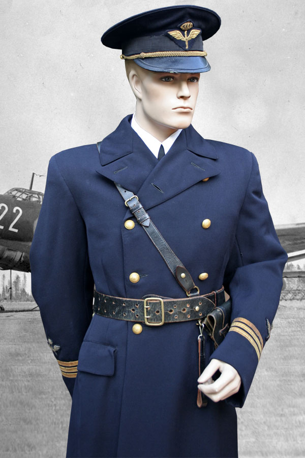 Swedish Air Force WWII m/30 Service Dress Uniform to Captain