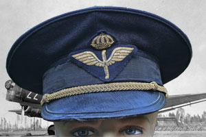 Swedish Air Force Wwii M 30 Service Dress Uniform To