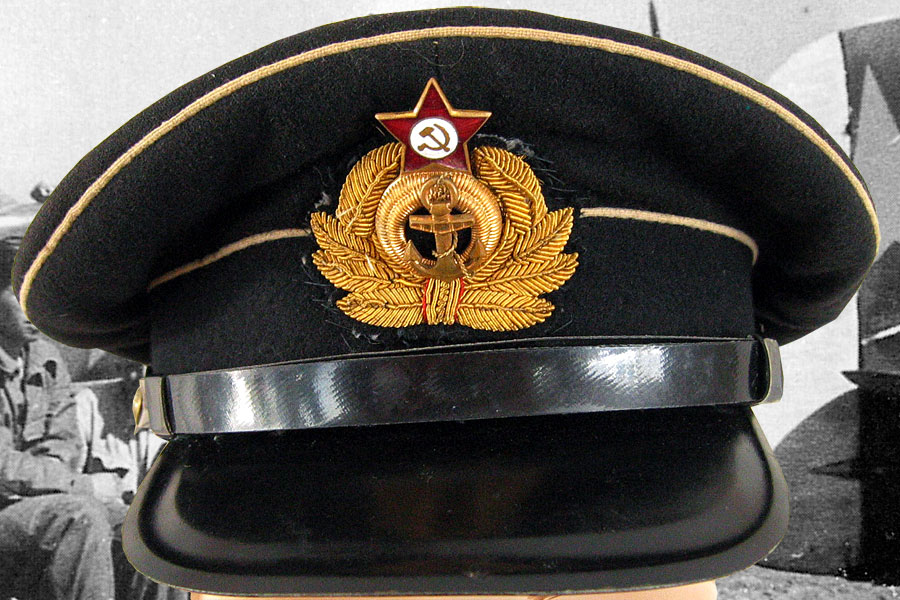 Soviet Officer Hat Soviet Navy Officer's Hat