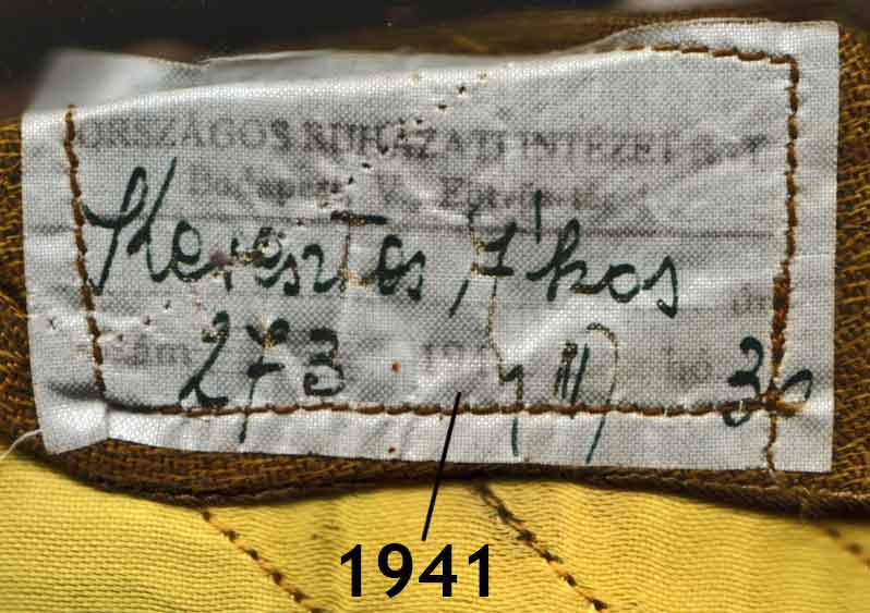 1941 Hungarian Air Force Tunic Tag help? Luftwaffe and